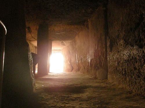 solsticio de verano en Menga a las 06h28