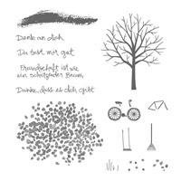 Baum der Freundschaft Photopolymer Stamp Set (German) by Stampin' Up!