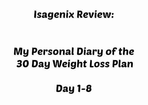 Isagenix Review ~ My Personal Diary of 30 Day Weight Loss Program | Daily Dish Magazine | Recipes | Travel | Crafts