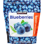 Kirkland Signature Whole Dried Blueberries, 20 oz
