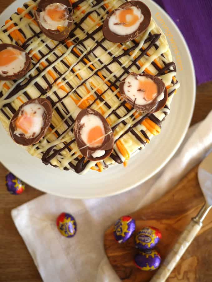 Creme Egg Cheesecake