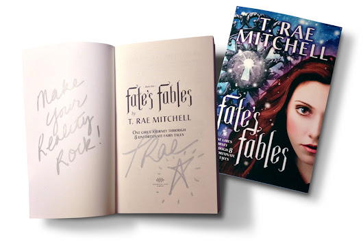 WIN a signed copy of Fate's Fables | T. Rae Mitchell