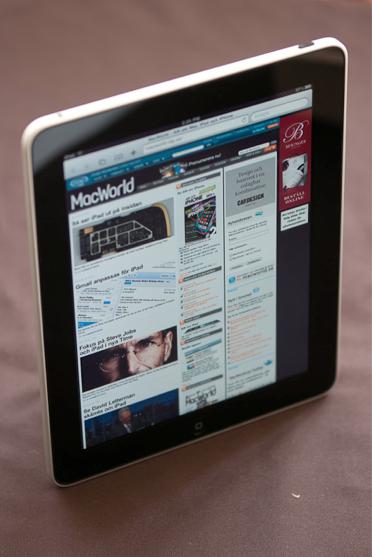 IDG testar iPad