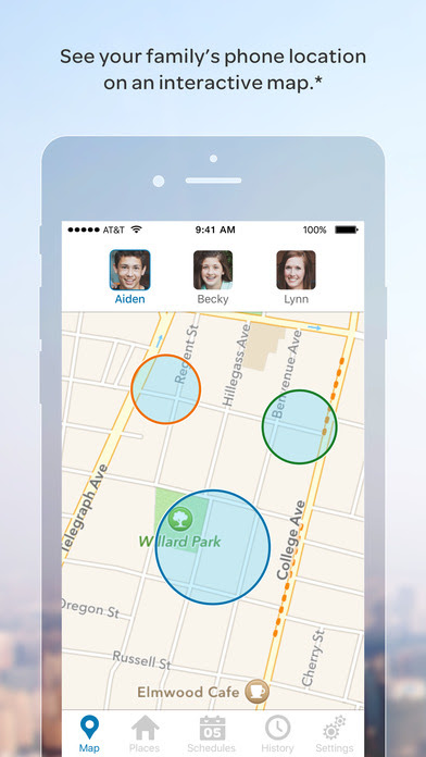Att Familymap On The App Store
