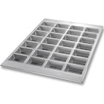 FocusFoodService 905725 3. 88 inch x 2. 5 inch 28 Mini Loaf Pan