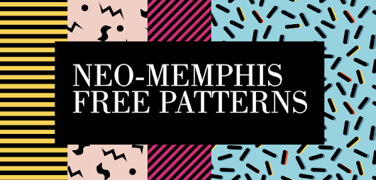 Download Free Pattern Neo-Memphis