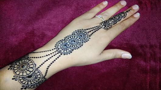 Henna Jewellery Mehndi : Simple henna designs google