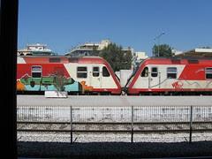 Larissa Station trains