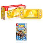 Nintendo Switch Lite Yellow + Crash Team Racing - Nitro-Fueled