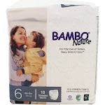 Bambo Nature Training Pants Stage 6 XL (40 lbs.) 18 Diaper(s)
