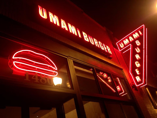 Dining Away from the Desk: Umami Burger in Wicker Park - Dining at my Desk