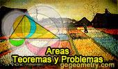 Áreas, Teoremas y Problemas.