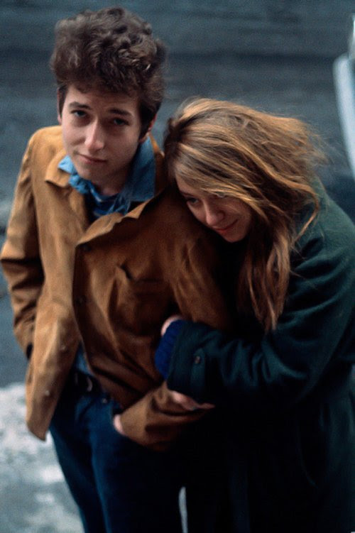 "Music History on Twitter: ""Bob Dylan & girlfriend Suze Rotolo,1963. """