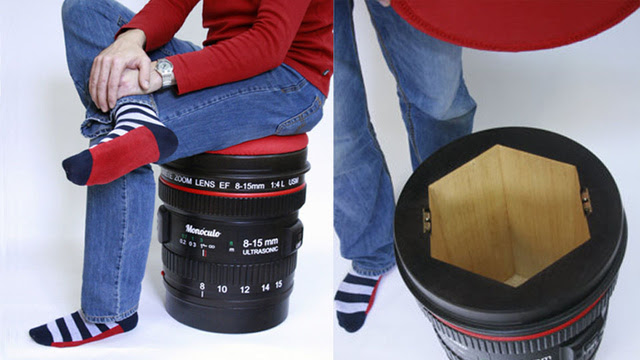 Click here to read Store Your DSLR In This Camera Lens Stool So Your Most Expensive Possessions Can Hang Out