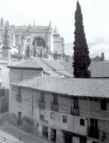 Casa del Deán de Toledo en el solar donde hoy se alza la audiencia
