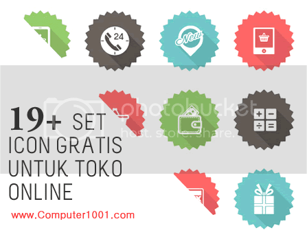 19+ Set Icon Gratis untuk Toko Online (E-commerce)