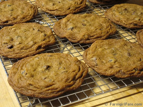 Big, Soft, and Chewy Whole Wheat Chocolate Chip Raisin Cookies - FarmgirlFare.com