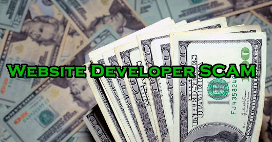 Scam that Targets Web Developers