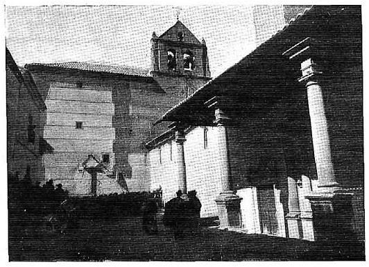 Descubrimiento de una placa en honor de Gustavo Adolfo Bécquer en la Plaza de Santo Domingo el Real en Toledo en 1915