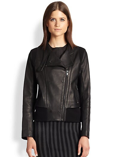 A.L.C. Saari Leather Jacket