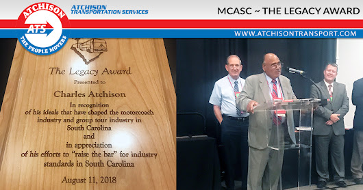 Charles Atchison – Proud Recipient of The Legacy Award – Atchison Transport Services