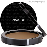 Lightweight Compact Powder Foundation lasts all day. Flawless finish 06 Natural Deep Beige