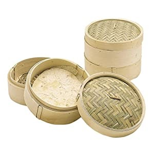 dampfgarer: Kitchen Craft Pure Oriental Bambus-Dampfkorb