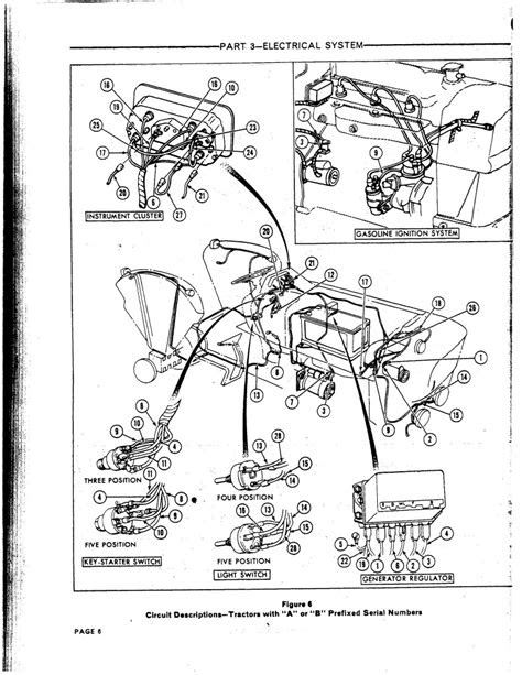 1964 Ford 4000 Wiring Schematic Tractor