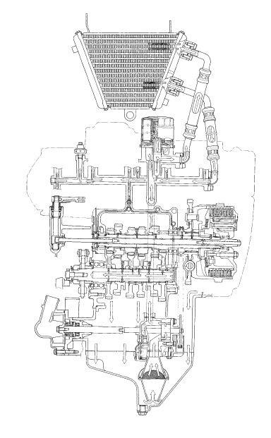 Suzuki GSX-R 1000 Service Manual: Schematic and routing