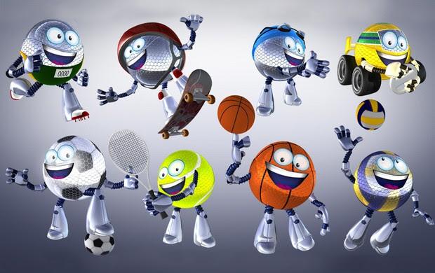 Mascote Esporte Todos (Foto: Editoria de arte TV Globo)
