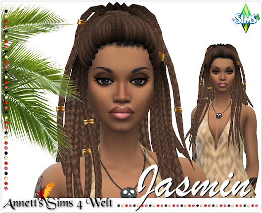 Model Jasmin at Annett's Sims 4 Welt » Sims 4 Updates
