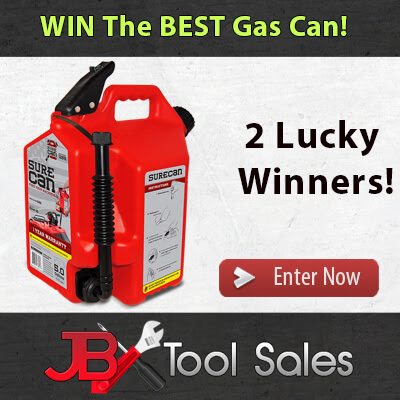 The Best Gas Can is SureCan! 5.0 Gallon Gas Can with Rotating Spout