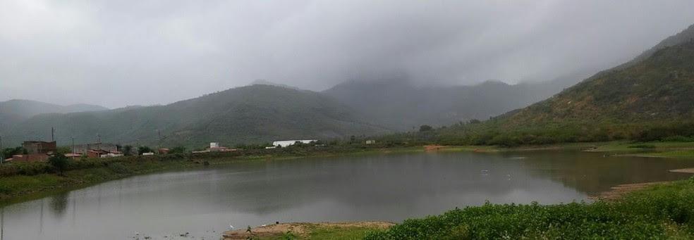 Cidade de Granja teve chuva de 144 milímetros, a mais forte precipitação no Ceará dos últimos dois meses. (Foto: Flávio Teixeira/Arquivo Pessoal)