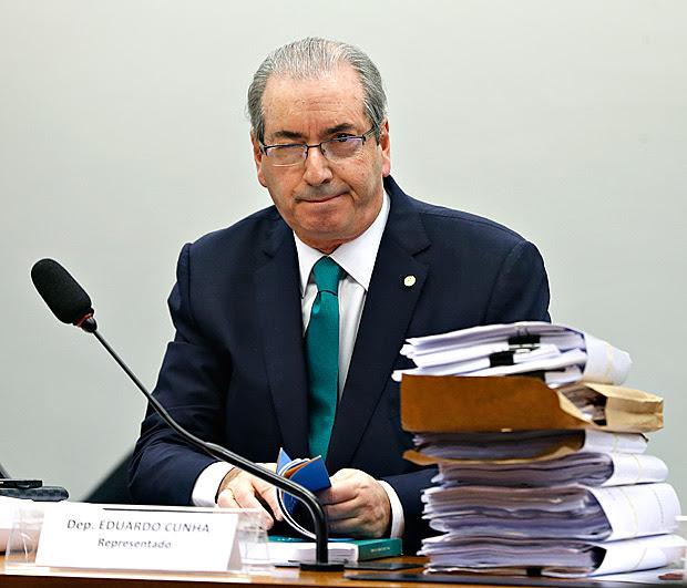 BRASILIA, DF, 19-05-2016 - Depoimento do deputado Eduardo Cunha no Conselho de ética da câmara. Pedro Ladeira/Folhapress