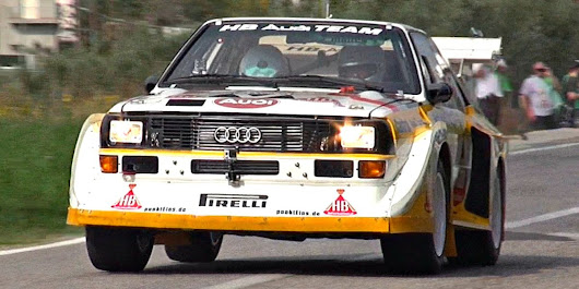 The Five-Cylinder Audi S1 Quattro Sounds Amazing