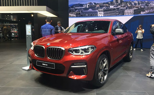 Geneva 2018: New Generation BMW X4 Makes Public Debut - NDTV CarAndBike
