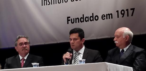 """Em palestra, Moro diz que Justiça sem participação popular """"é limitada"""""""