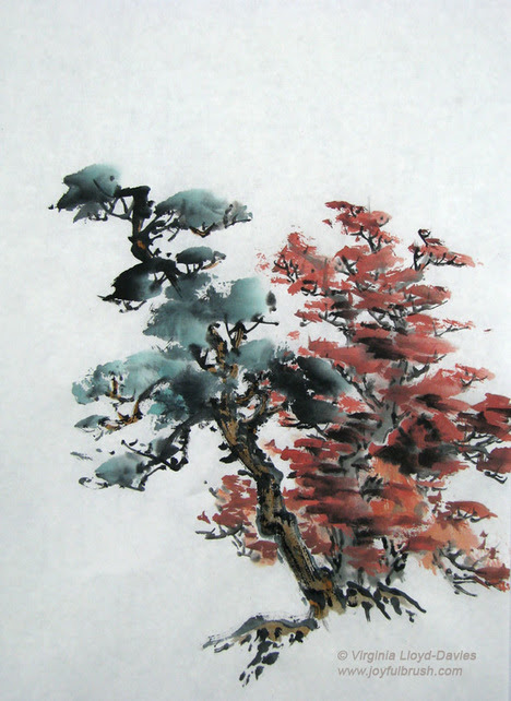 Chinese Landscape Starts with a Tree
