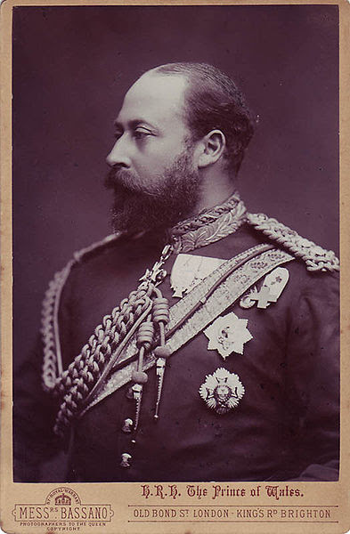 File:Alexander Bassano (1829-1913) - Edward, Prince of Wales, later King Edward VII.jpg