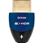 AudioQuest Ocean - HDMI cable - Black with blue accents - 4 ft - M 19 pin HDMI Type A to M 19 pin HDMI Type A