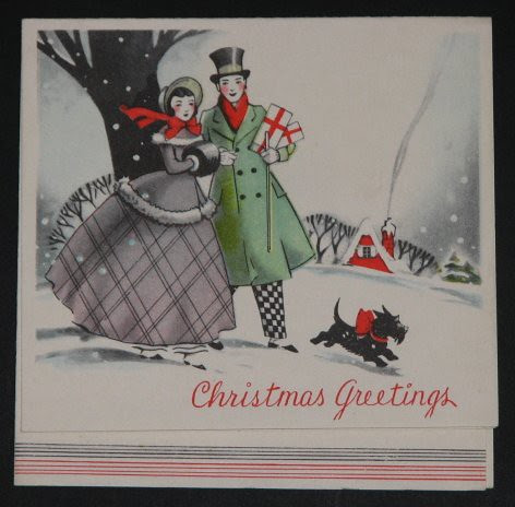 Vintage Christmas Cards 005