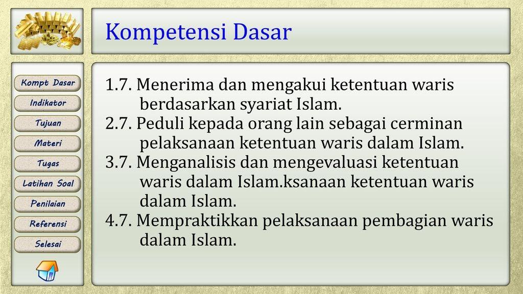 Pengertian Asal Masalah Dalam Hukum Waris Islam