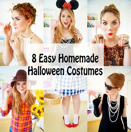 8 Easy Halloween Costumes