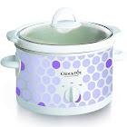 Crock-Pot SCR250-POLKA Slow Cooker - 2.5 qt - Polka dot pattern