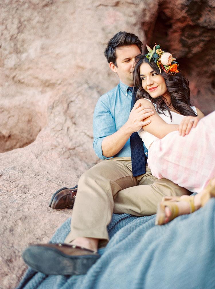 5 Gorgeous Outdoor Engagement Shoot Locations In Arizona Phoenix Scottsdale Charleston Nantucket Italy Wedding Photographer Melissa Jill Photography