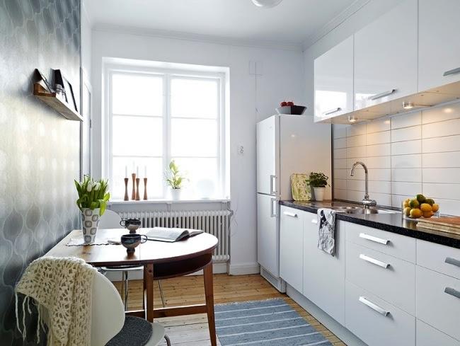 Küche kleine küche modern einrichten : KÜCHE UND ESSZIMMER EINRICHTEN ~ Barışın Kişisel Bloğu