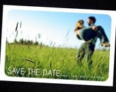 Save the Date -Custom Photo Simple