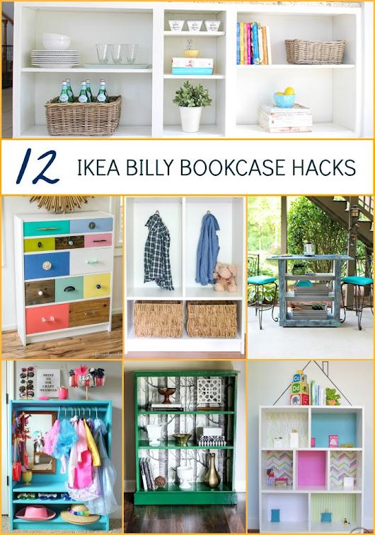 IKEA hacks: 12 billy bookcase makeovers