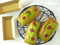 Cranberry and Green tea Financiers