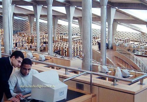 Computerrecherche, Bibliothek von Alexandria